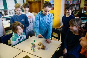 École primaire Hélène-Boullée, présentation de concept en maquettes préliminaire